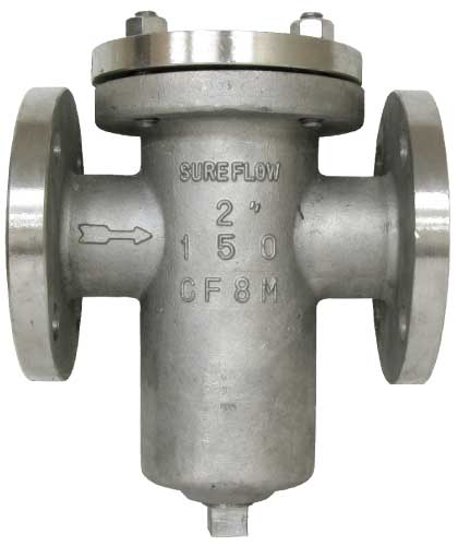 Sure Flow BF150SS Cast Stainless Steel Flanged Basket Strainer