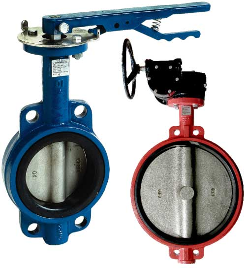 Sure Flow BFVW Wafer Style Butterfly Valves