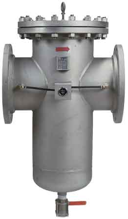 Sure Flow BW150 / BW300 Carbon Steel or BW150SS / BW300SS Strainless Steel Flanged Fabricated Basket Strainer