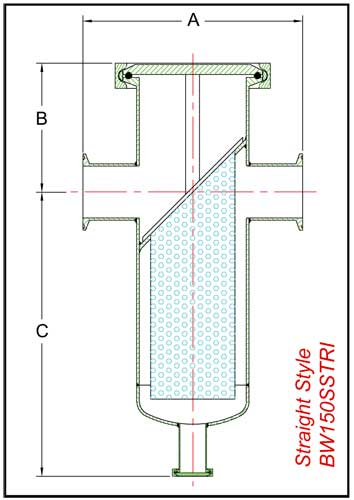 BW150SSTRI schematic straight style