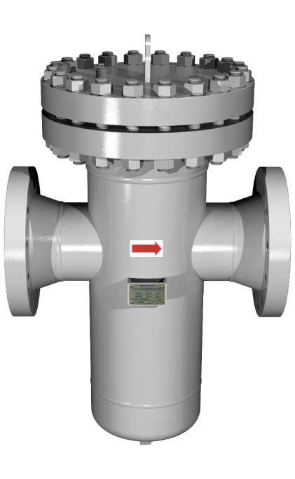 The Sure Flow BW600 Carbon Steel and BW600SS Stainless Steel Fabricated Basket Strainer