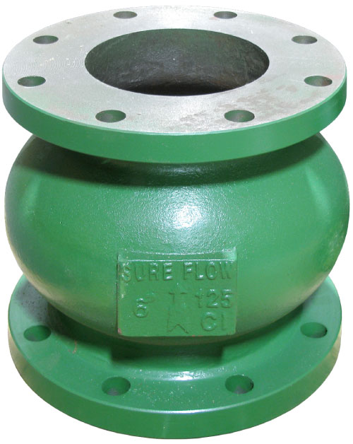 Sure Flow CF125ISC Cast Iron Silent Globe Check Valve