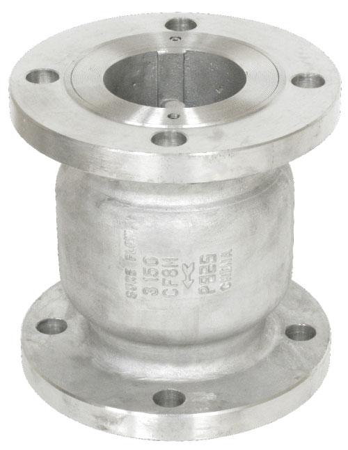 Sure Flow CF150SSC Cast Stainless Steel Silent Globe Check Valve with Flanged End