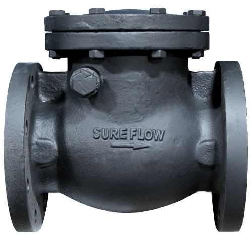 Sure Flow CSF125IB Horizontal Swing Check Valve Flanged End