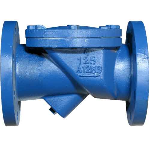 Sure Flow CXF125IV Ductile Iron Elastic Swing Check Valve with Flanged End Connections