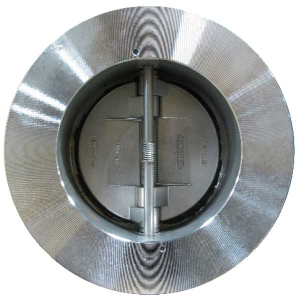 FE Stainless Steel Wafer Double Door Check Valve