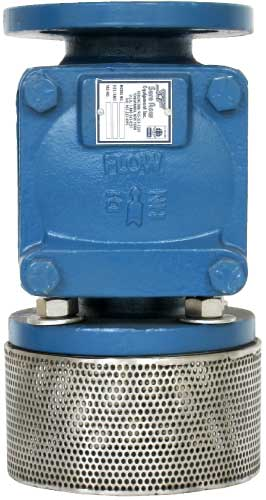 FVCEXF125 Elastic Swing Foot Valve