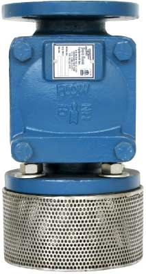 Sure Flow FVCEXF125 Ductile Iron Elastic Swing Foot Valve