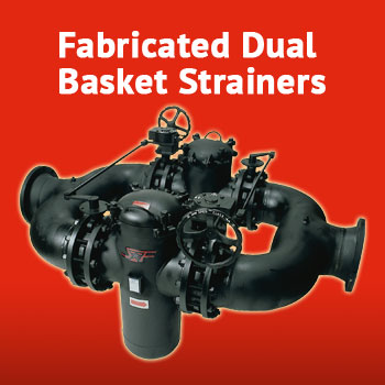 dual basket strainer. sure flow equipment features the most complete line of quality strainers in any material and size dual basket strainer