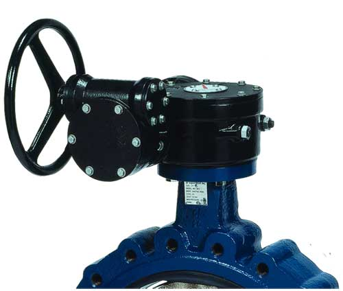 Sure Flow Gear Operator with Indicator Standard Butterfly Valve Actuator