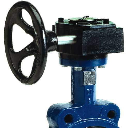 Sure Flow Gear Operator with Indicator Standard Butterfly Valve Actuator 3