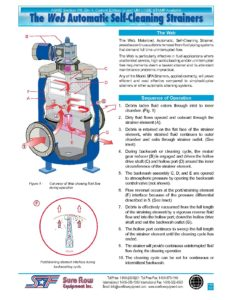 Sequence of Operation Self-Cleaning Strainer | Sure Flow