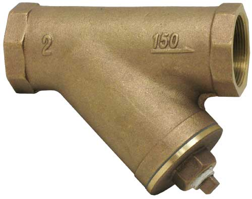 This is the Sure Flow TB150 / TB300 Cast Bronze Y Strainer with NPT and Sweat End Connections