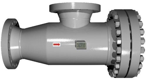 Sure Flow TWA150 / TWA300 Fabricated Tee Strainer with Angled Flow