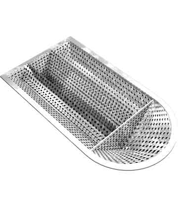 Fabricated Tee Strainer Basket menu Sure Flow