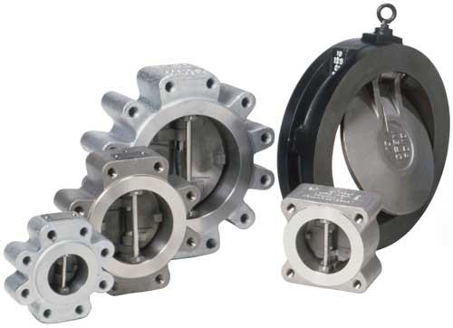 group shot double door retainerless check valves Sure Flow