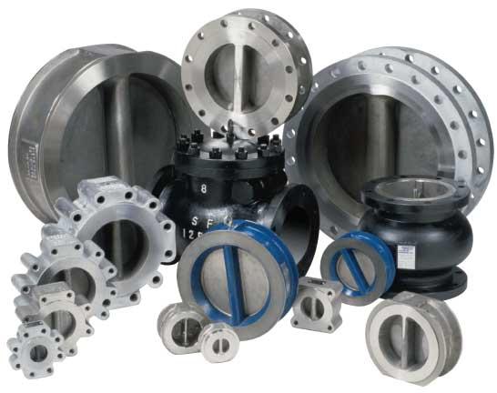 grp2 double door retainerless check valves Sure Flow