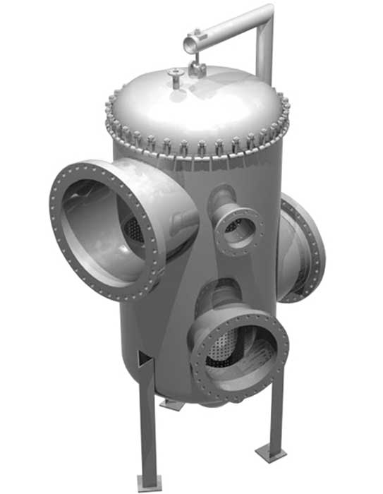 Sure Flow 42x64 Fabricated Basket Strainers Multi-Inlet Outlet