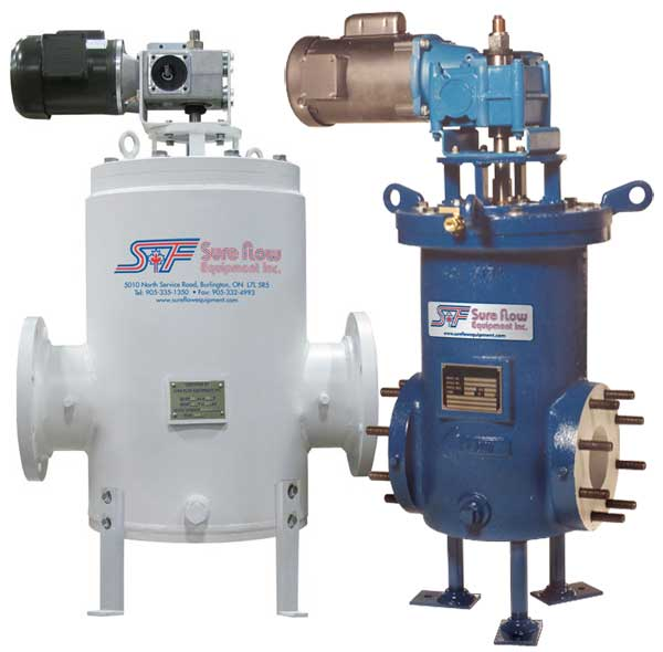 Automatic Self Cleaning Strainers from Sure Flow