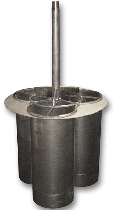 Custom Engineered Monel Custom Strainer Basket Holding System