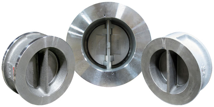 FE Series Carbon Steel Wafer Double Door Check Valves