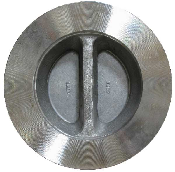 Stainless steel wafer double door dual disc sure