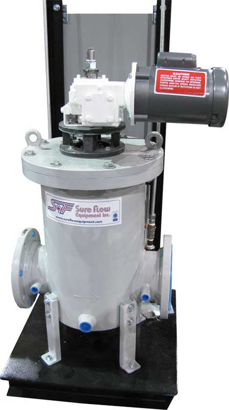 Skid Mounted Automatic Self-Cleaning Strainer Sure Flow