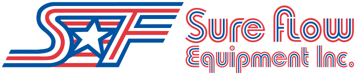 Sure Flow Equipment horizontal logo