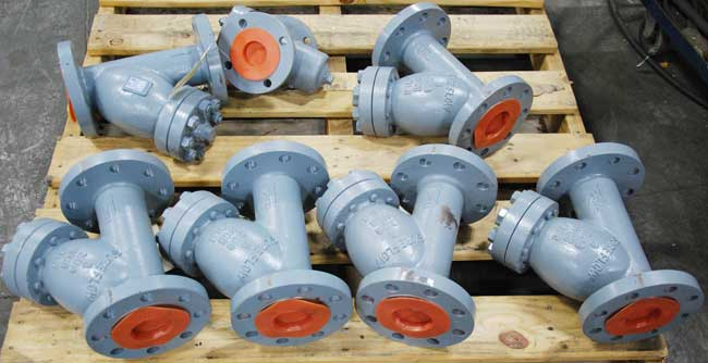 Sure Flow 300 Y strainers ready to ship