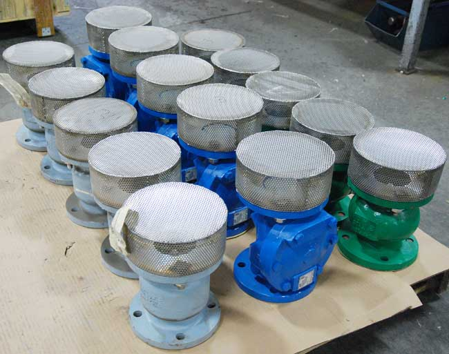 a variety of Sure Flow foot valves