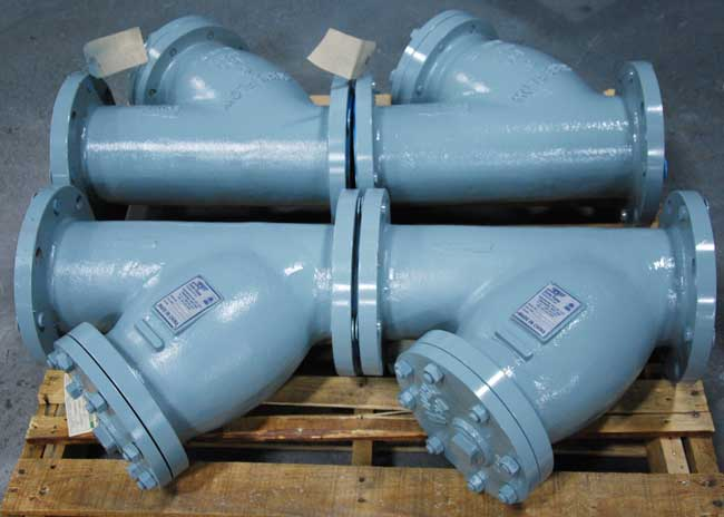 y strainers ready to ship